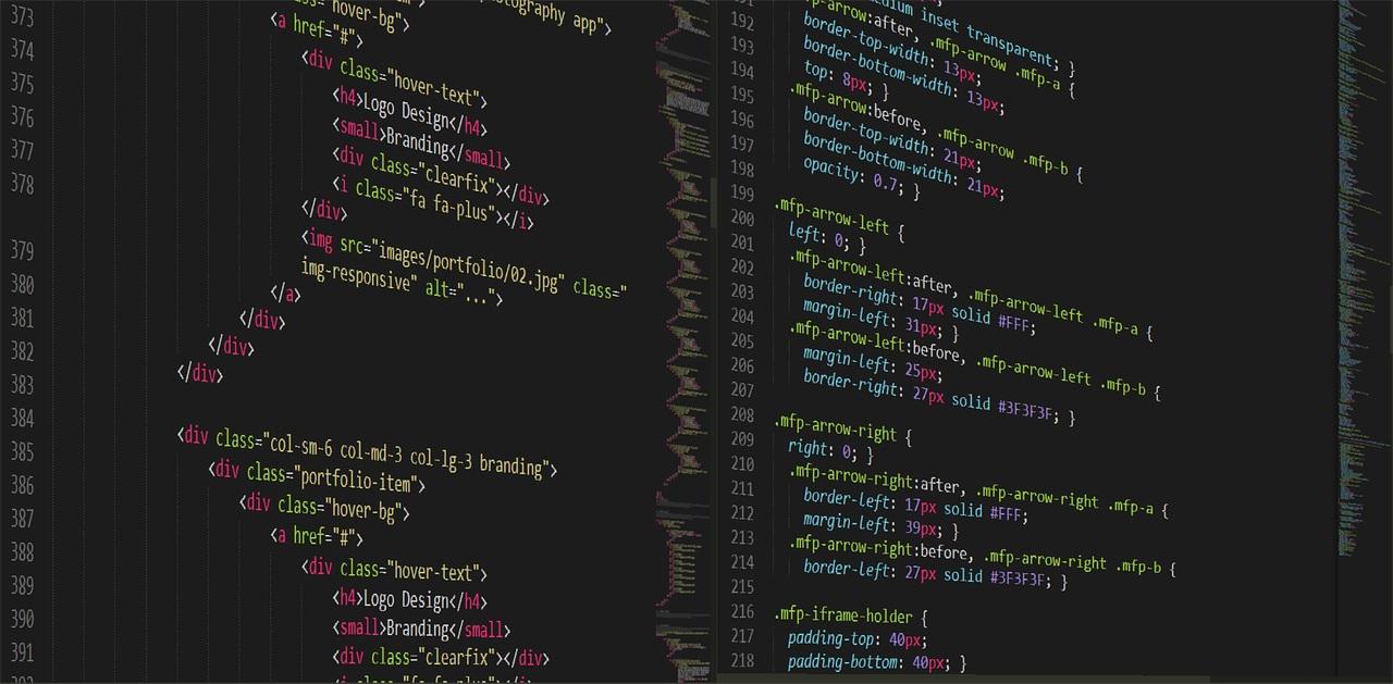 Préparation de la mise en page HTML et de la feuille de style d'un site internet
